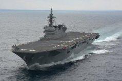 世界上最大的驱逐舰:日本的出云级直升机驱逐舰