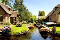 世界上地势最低的国家:荷兰1/4土地处于海平面以下
