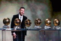 获得金球奖最多的球员:梅西一共获得了6次