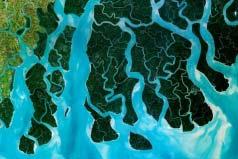 世界上最大的三角洲:恒河三角洲面积达6.5万平方公里